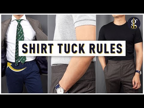 How and When to Tuck in Your Shirt [A Complete Guide]
