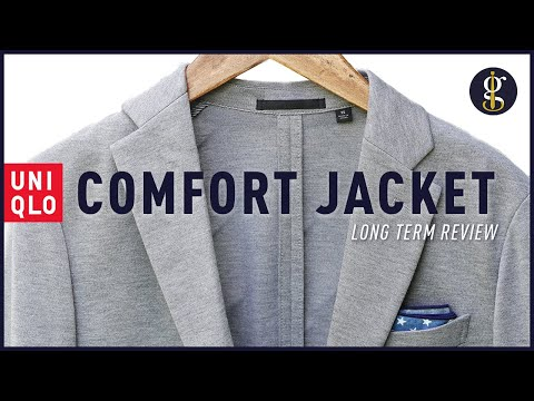 UNIQLO COMFORT JACKET Review [A Casual Everyday Blazer for Men]