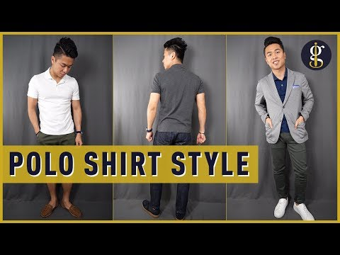 How to Wear a Polo Shirt | How to Style Polos (Men's Outfit Ideas)