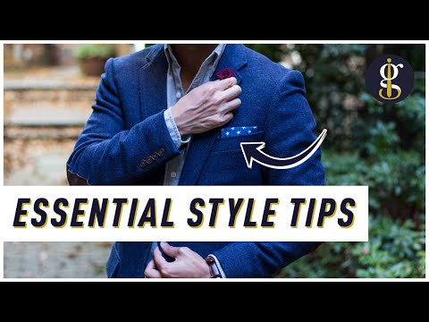 12 Essential Style Tips for Guys (How to Dress Well) | Men's Fashion Advice