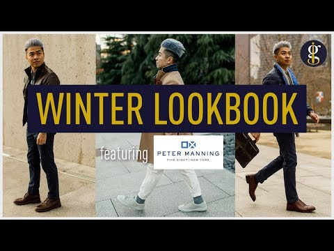 WINTER OUTFIT IDEAS & Why They Work   Men's Smart Casual Winter Lookbook 2018