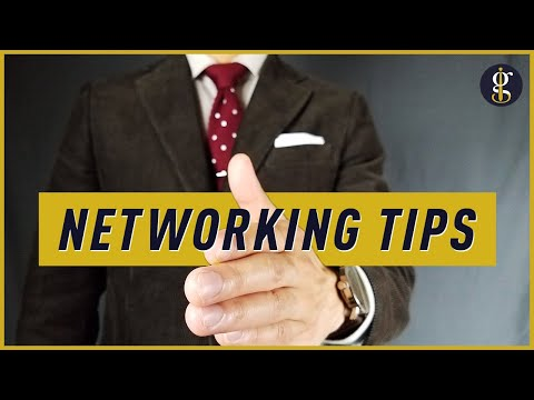 10 NETWORKING TIPS So You Can CRUSH IT At Your Next Business Conference