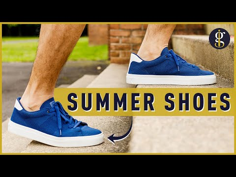 STYLISH SUMMER SHOES & How to Wear Them (Knit Sneakers, Canvas Vans & More)