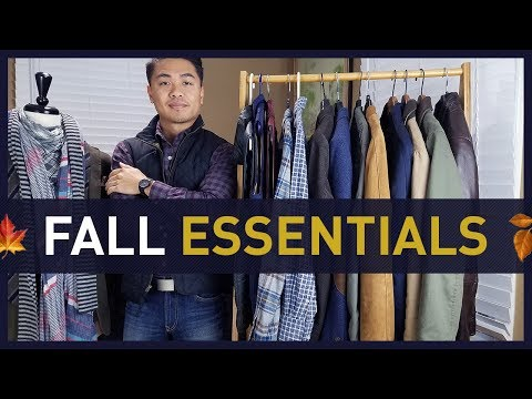 11 MEN'S FALL STYLE ESSENTIALS and How To Wear Them