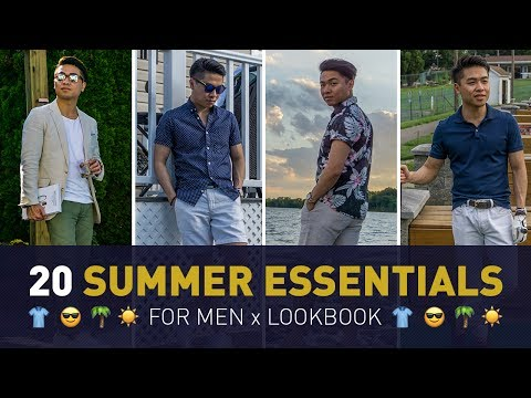 20 Summer Style Essentials | Men's Warm Weather Must Haves To Stay Cool & Stylish