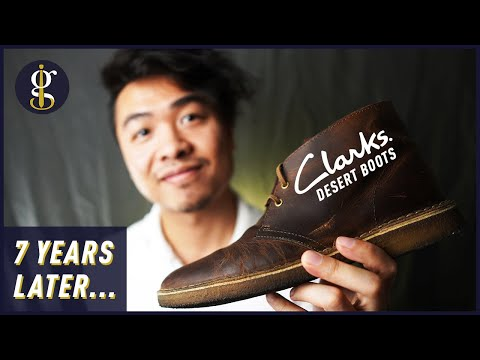 Clarks Desert Boot Review in Beeswax (Leather Chukkas 7 Years Later)