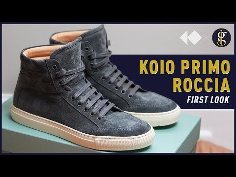 Koio Primo Roccia High-Top Sneaker Unboxing & How To Style (On Feet)