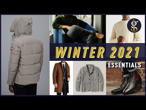 WINTER STYLE ESSENTIALS for Men 2021 | Khoi's Curated Cold Weather Wardrobe Picks