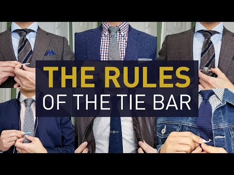 How to Wear a Tie Bar & Tie Clip | Styling Ideas & Rules To Know