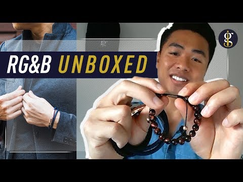 RoseGold and Black First Look | Unboxing & Review | Accessories For A Modern-Day Gentleman