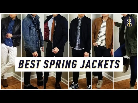 THE 6 BEST SPRING & SUMMER JACKETS Every Guy Needs | Spring Style Lookbook | Men's Fashion 2019
