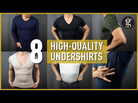 BEST UNDERSHIRTS for Men | Uniqlo HeatTech, Thompson Tees, Ribbed Tee, Tani USA & More
