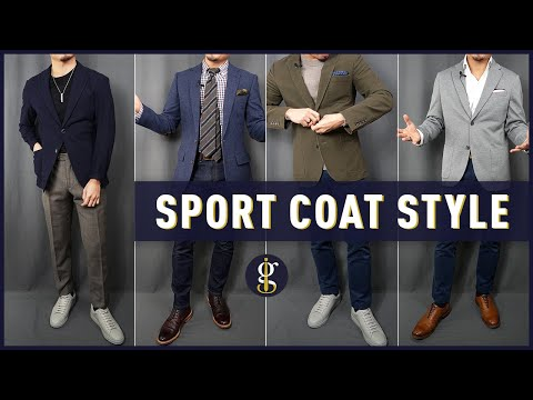 How to Wear a Blazer 6 Stylish Ways | How To Style (Men's Outfit Inspiration)