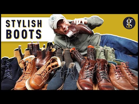 13 BEST BOOTS for Stylish Guys (Chelseas, Moc Toes, Chukkas & More) | Men's Fashion
