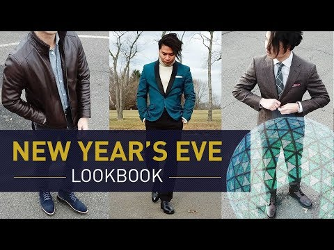 What to Wear on New Year's Eve & Holiday Party | Men's Style Lookbook