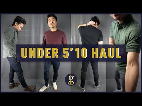 9 CASUAL OUTFITS for Short Men | Under 5'10 Review & Try-On (Men's Style & Fashion)