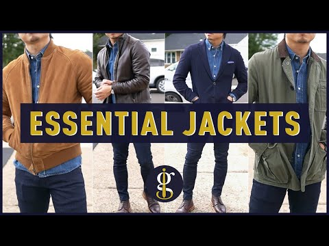 5 ESSENTIAL JACKETS this Fall & Winter for Short Men (Best Jacket Styles to Wear Now)