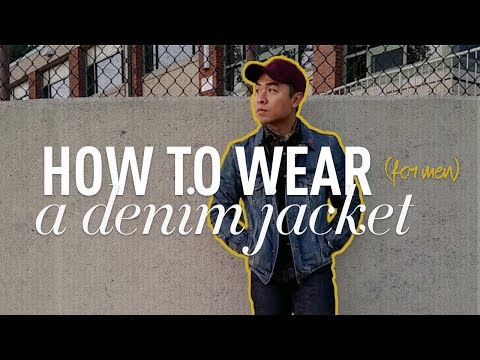 HOW TO WEAR A DENIM JACKET | How To Style | Men's Fall Lookbook