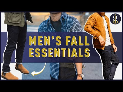 FALL STYLE ESSENTIALS for Men 2019 [12 Autumn Picks for Your Wardrobe]