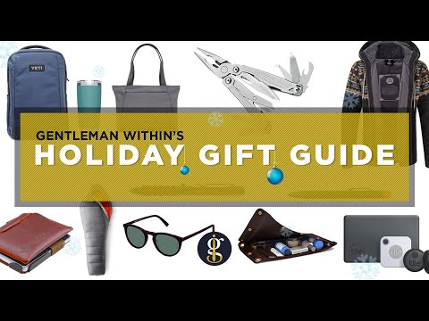24 GREAT GIFT IDEAS FOR GUYS (Style, EDC, Travel, Grooming & More) | Holiday Guide