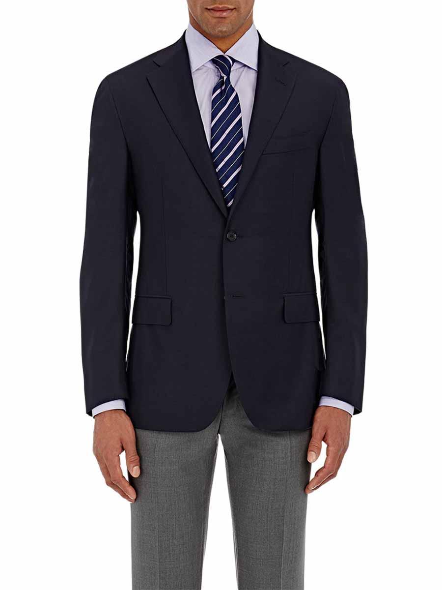 Navy blazer tie color