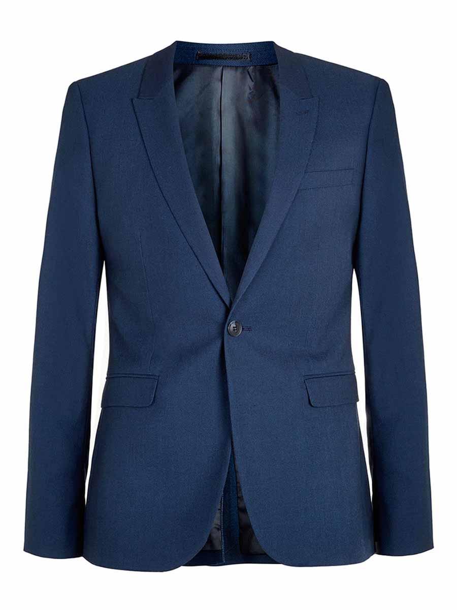 ba7b645f6 Navy Blue Blazer  Men s Outfit Essential
