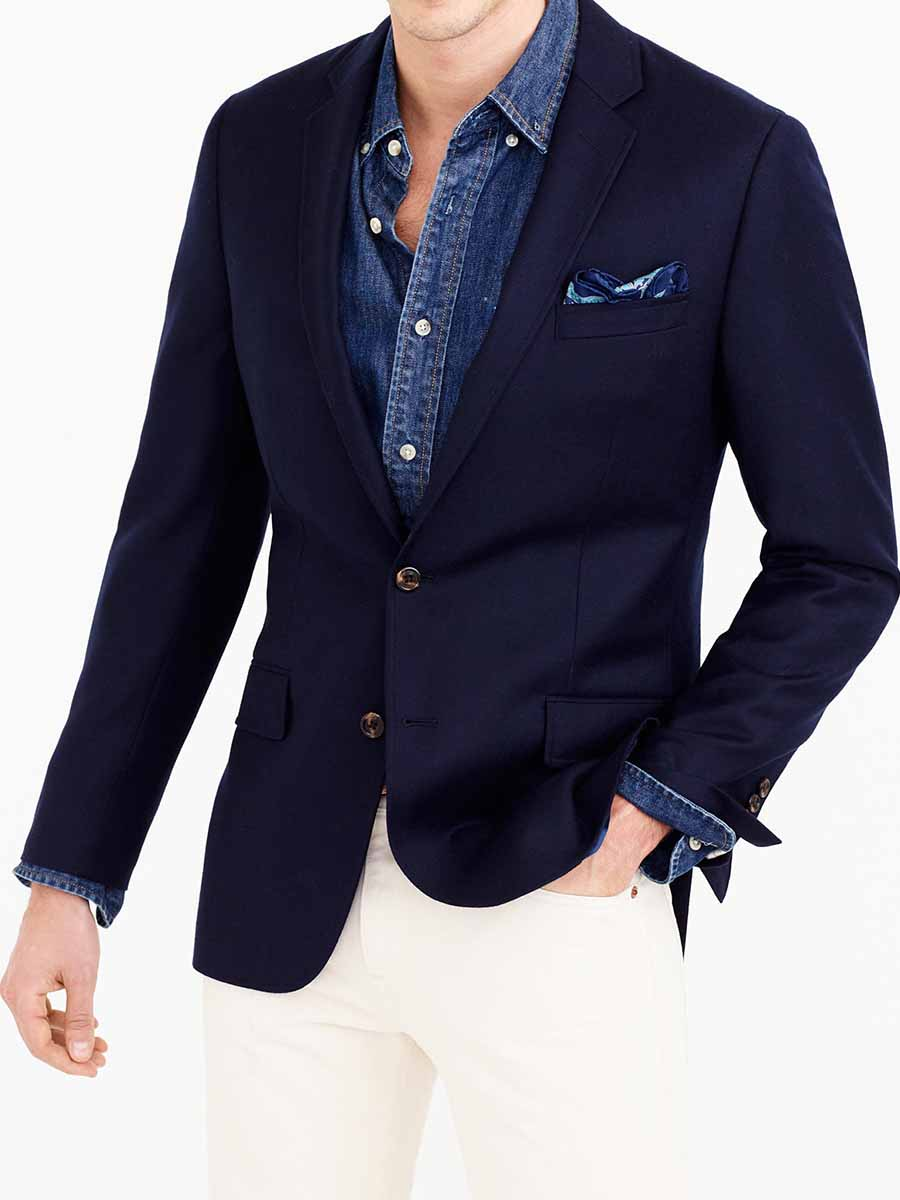 How To Wear A Navy Blue Blazer Style Guide Gentleman Within