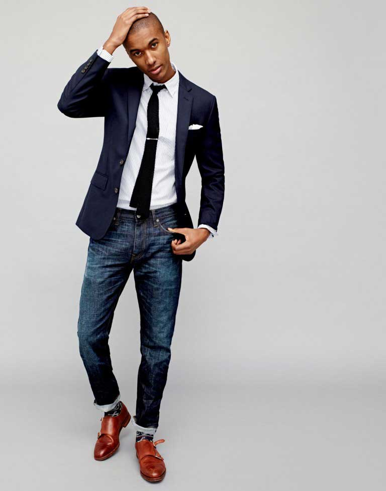 Navy Blazer Blue How To Gentleman Guide Within Style A Wear qXwOtT