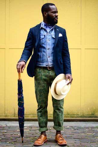 cb8d56ea2513 Navy Blue Blazer  Men s Outfit Essential