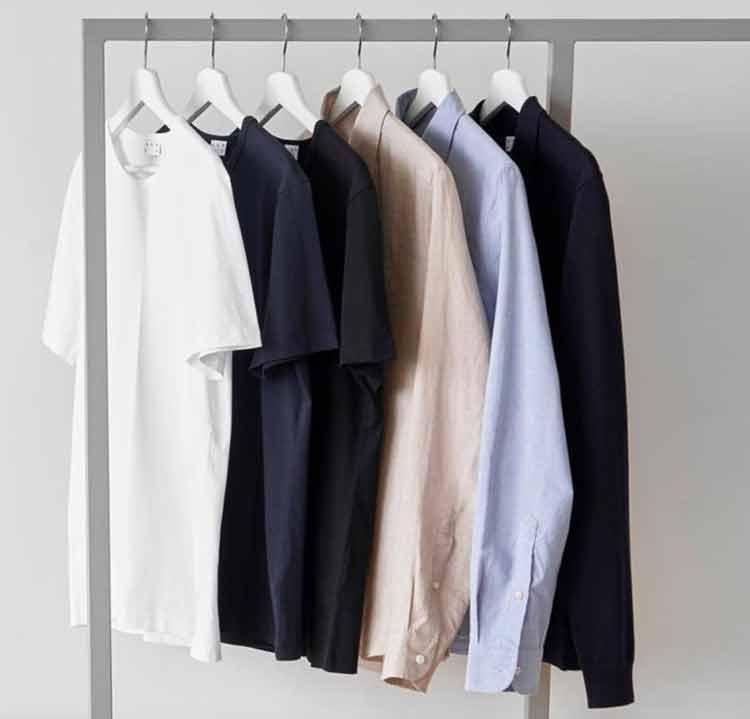 minimalistische Grundlagen für Männer