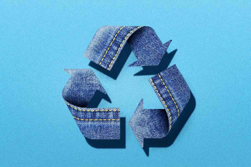 Nachhaltigkeit recyceln Kleidung